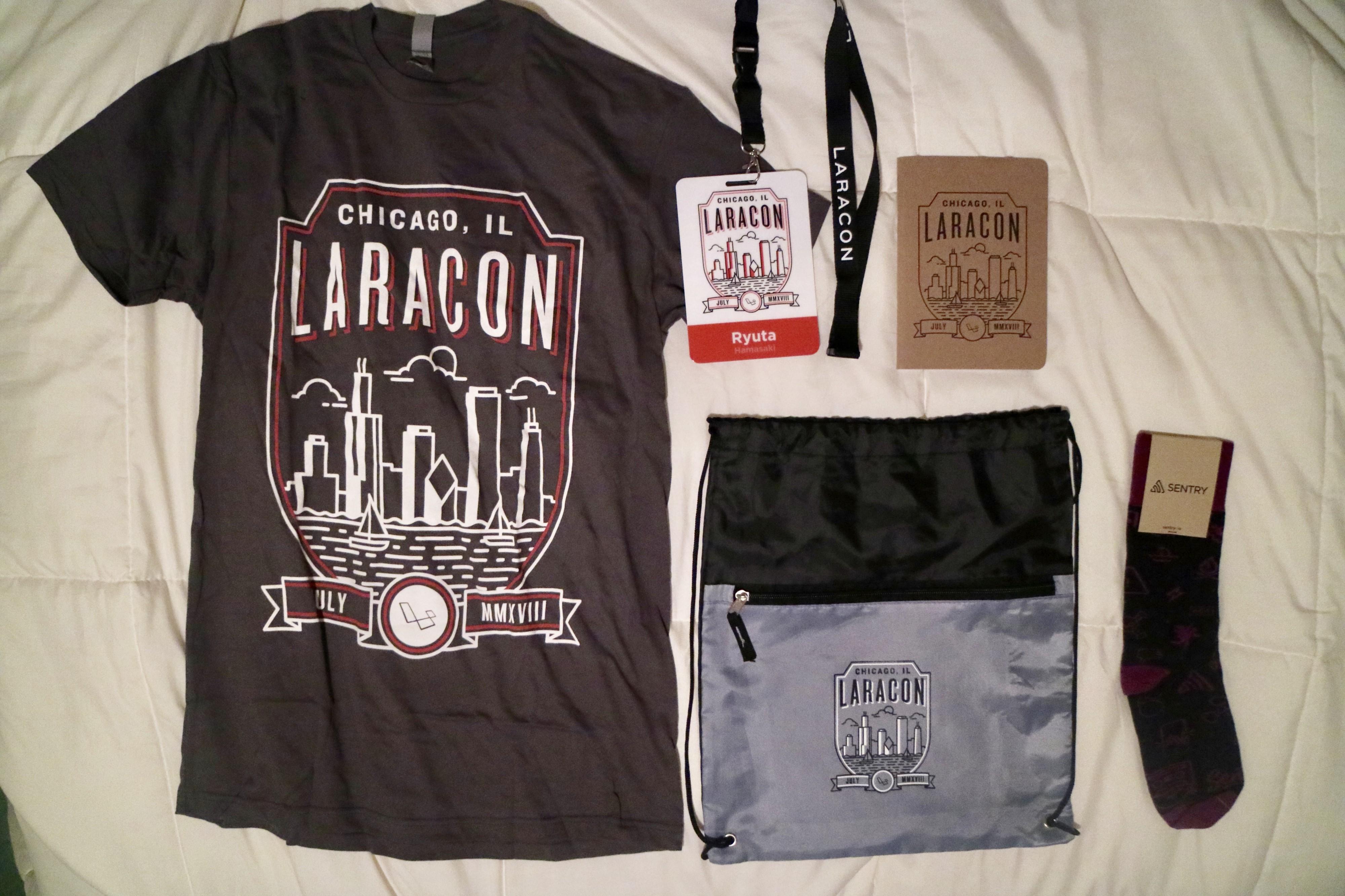 Laracon swags